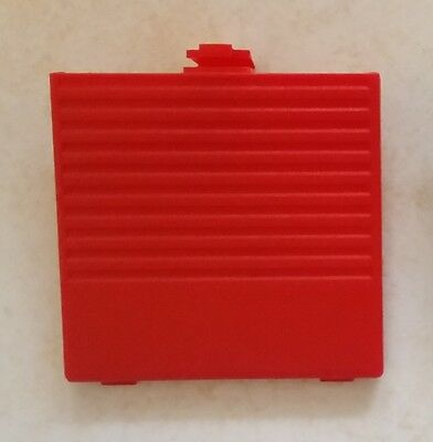 Cache Pile Rouge - NEUF - Game Boy Classic, Grosse Gameboy Fat Battery cover