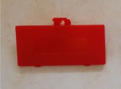 Cache Pile Rouge - NEUF - pour Game Boy Pocket - Gameboy GBP - Battery cover