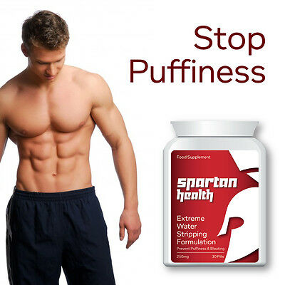 Spartan Health Extreme Water Stripping Formulation Pill Lose Water Weight