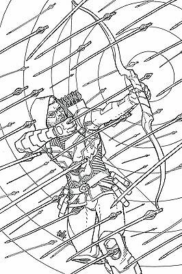 Green Arrow # 48 Coloring Book Variant NM/MT DC