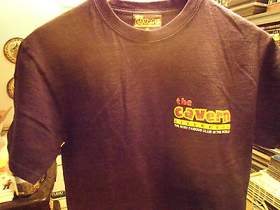 The Early Beatles Related shirt The Cavern Club Liverpool England Size M Vg+