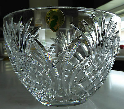 "Stunning BNIB Waterford Crystal ""Pineapple"" Small Bowl"