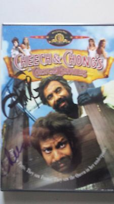Signed Cheech And Chong Autographed Dvd Tommy Chong And Cheech Marin