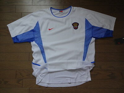 Russia 100% Original Soccer Jersey 2002 03 Home Double Layer Player Issue L  BNWT 263971f97