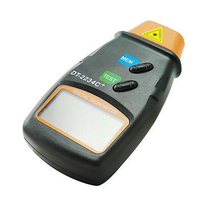 Digital Photo Laser Tachometer Non Contact Tach RPM Tester Meter Measuring Tool