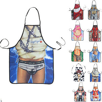 Barnd Funny Party Novelty Sexy Naked Kitchen Cooking Home BBQ Apron Gift