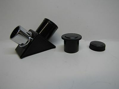 ".965"" 90 degree mirror telescope eyepiece star diagonal - NEW!"