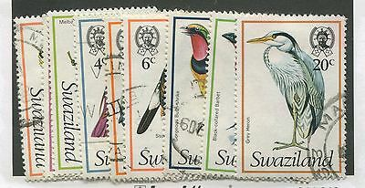 Swaziland #244-253 Used Partial Set