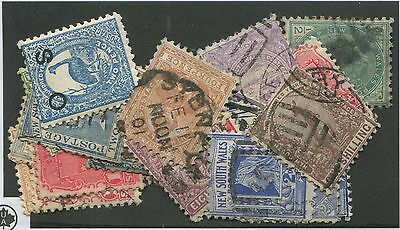 New South Wales Mint & Used Collection Remainder Scott Value $70.00