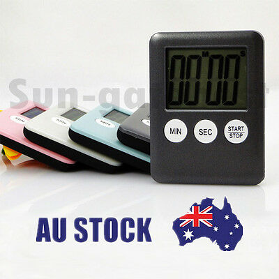 High Quality Mini Electronic Kitchen Cooking Alarm Count Down Timer LCD Magnetic