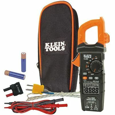 Klein Tool CL800 Digital Clamp Meter Auto-Ranging 600A AC/DC 23383