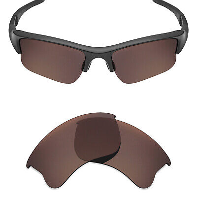 a190c60f899 Mryok Polarized Replacement Lenses for-Oakley Flak Jacket XLJ Bronze Brown