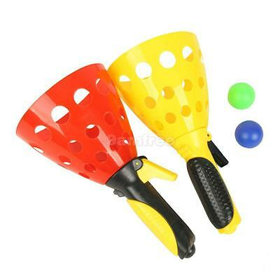 Click And Catch balls Sport Game Set for Children Kids Beach Garden Party toy