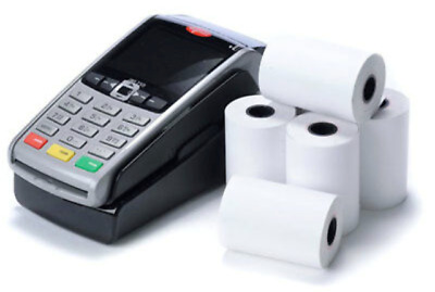 *57x40mm MACHINE TILL CREDIT CARD,PDQ THERMAL PAPER ROLLS CASH REGISTER RECEIPT