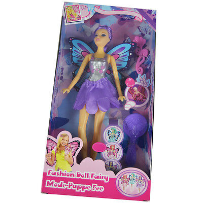 Bambola Fatina Fashion Doll Fairy Colori/Modelli Assortiti Bambolina Eddy Toys