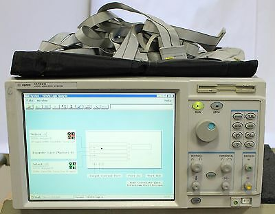 HP / Agilent 16702B Logic Analysis System w/ 16753A, 16717A & Cables