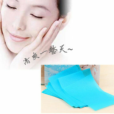 HOT 100 Sheets Make Up Oil Absorbing Blotting Facial Face Clean Paper