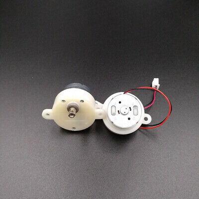 2pcs Small mini dc geared motor 3V-6V 5V worm brush gear motor Slow low speed