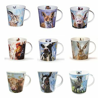 Dunoon Animals on Canvas Mugs