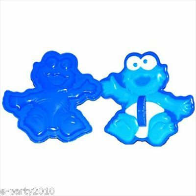 SESAME STREET BEGINNINGS Cookie Monster CUTTERS (4) ~ Birthday Party Supplies