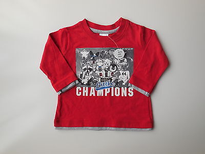 'brand New' Baby Boy Top Tshirt Size 00 Fits 3-6M