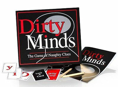 DIRTY MINDS - The Game of NAUGHTY CLUES - After Dinner Adult PARTY GAME