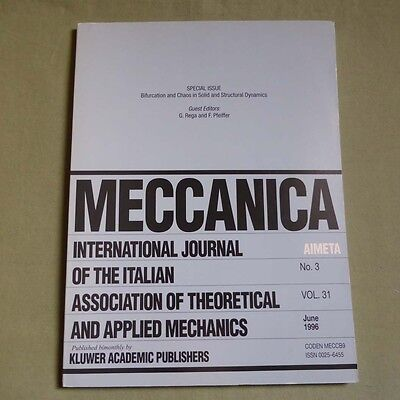 Meccanica 31_3 1996_Bifurcation and Chaos in Solid and Structural Dynamics