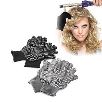 High Quality Hair Straightener Curling Hairdressing Heat Resistant Finger Gloves