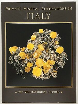 Private Mineral Collections in Italy published by Mineralogical Record 2011