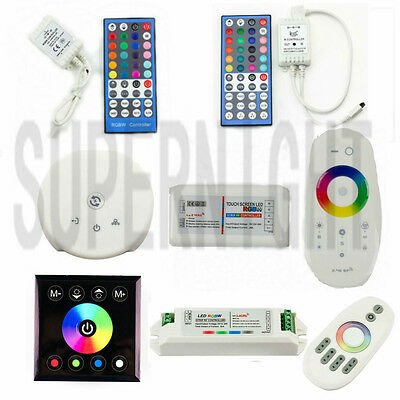 Wireless IR/RF Remote Controller For DC 12V/24V RGBW/RGBWW LED Light Strip Lamp