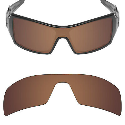 fb156f7f0e9 Mryok Polarized Replacement Lenses for-Oakley Oil Rig Sunglasses Bronze  Brown