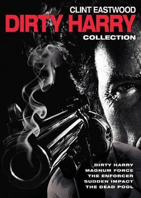5 Film Collection: Dirty Harry New Region 1 Dvd