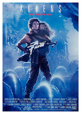 Aliens (1986) V3 - A1/A2 Poster **BUY ANY 2 AND GET 1 FREE OFFER**