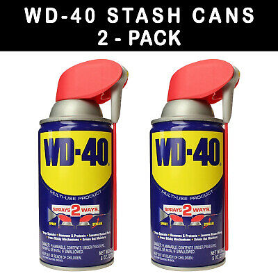 2Pack Stash Can Wd 40 Hidden Diversion Home Safe Hide Herbal Cash Jewelry Secret