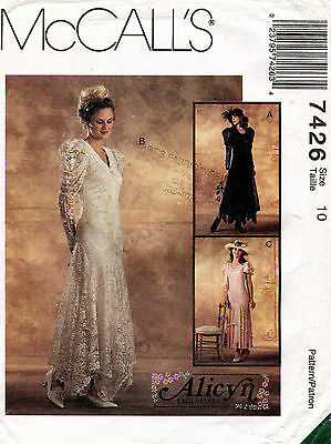 McCall's Misses' Dress by Alicyn Pattern 7426 Size 10 UNCUT