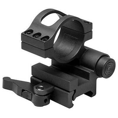 NcSTAR Flip to Side 30mm Magnifier Optic QR Quick Release Mount Black MAGFL