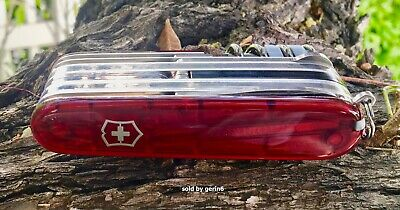 Victorinox Swiss Army Knife, Cybertool 34 Lite, Ruby Red,  53969, New In Box