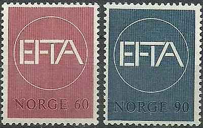 Timbres Norvège 505/6 ** lot 9571