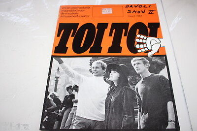 TOITOI  march 1967 frugal sound 60's mod beat groups - ULTRA RARE MUSIC MAG