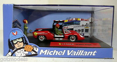 Michel Vaillant cartoon 1/43 scale diorama Leader Gengis Khan LM style model car