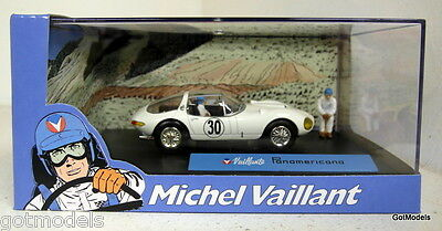 Michel Vaillant cartoon 1/43 scale diorama Valliante Panamericana model car