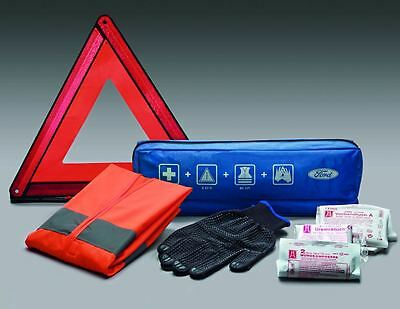 Ford Premium Safety Kit / First Aid Kit, Warning Triange, Vest 1872753
