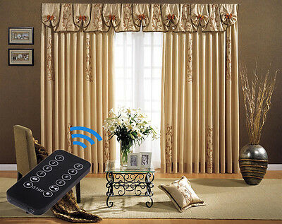 "2 - 7 Meters (276"") Remote Control Electric Curtain Tracks! Free & Fast Delivery"