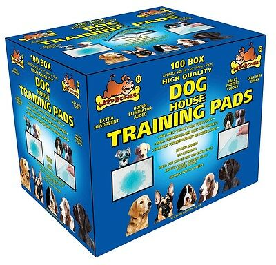 Lazy Bones Pup Pee Wee Wee Pads Puppy House Training Pads 100pk