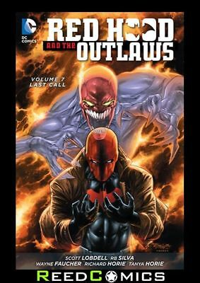 RED HOOD AND THE OUTLAWS VOLUME 7 LAST CALL GRAPHIC NOVEL Collects (2011) #35-40