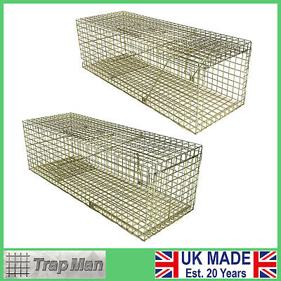 FERAL cat traps UK made CHOICE of TrapMan quality traps