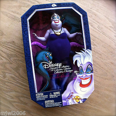 """Disney URSULA Signature Collection THE LITTLE MERMAID Sea Witch 12"""" doll Mattel"""