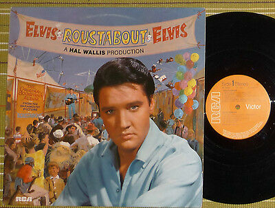 Elvis Presley, Roustabout, Film Soundtrack, Lp 1964 Uk Ex-/ex-