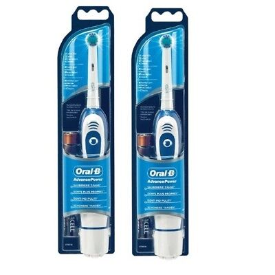 Oral-B Advance Power 400 DB4010 Battery Powered Electric Toothbrush Double pack