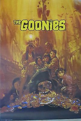 Goonies Treasure - LAMINATED POSTER-90cm x 60cm-Brand New